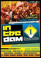 Innovation In The Dam 2011 Pack 2 - Weekender Pt 6 Random Concept 6xCD *SALE*