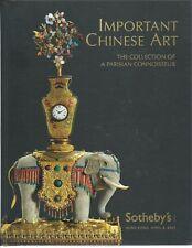 SOTHEBY'S HK IMPORTANT CHINESE Porcelain Cloisonne Parisian Coll Catalog 2007 HC
