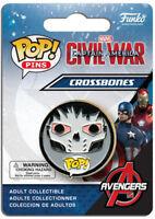 Funko Pop! Pins: Captain America - Civil War - Crossbones [New Toy] Vinyl Figu