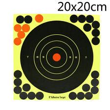 5pcs 8 Inch Splatterburst Targets Adhesive Target Stickers Hunting Shooting AB