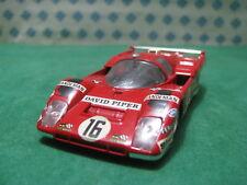 Vintage   -  FERRARI 512 M   Le Mans  1971   - 1/43 Solido n°197