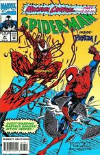 1993 SPIDER-MAN #37 ~ Maximum Carnage ~ Venom, Carnage, Captain America ~ @LOOK@