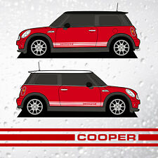 Mini Retro Cooper Side Stripes - 1275 GT style R50 R52 R53 R56 R57