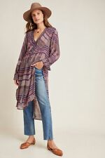 Anthropologie Lucia Tunic Blouse Top by BI-nk NWT Size L *Only one!*