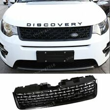 Black Front Grille Grill Mesh Cover For Land Rover Discovery Sport 2015-2018