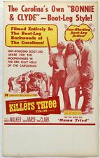 KILLERS THREE Benton window card