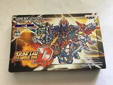 Super Robot Wars TAISEN D Game Boy Advance GBA JAP JAPAN OTTIMO STATO
