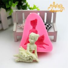 Angel Girl 3D Silicone Mould Fondant Mold DIY Cake Molds Baking Decorating Tools