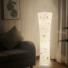 Warm White Modern Standard Lamp Fabric Lighting Floor Lamps Living Room Bedroom