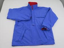 Vtg Patagonia Mens Purple & Red Nylon Pullover Snap Jacket Sz Medium Windbreaker