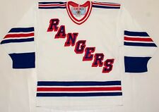 Vintage CCM New York NY Rangers Hockey Jersey Canada Made Size M/L