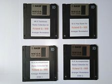 More details for collection of accompaniment floppy disk song styles for roland g 800 keyboard