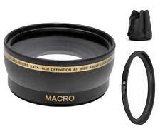 Xit Wide Angle Lens for Sony Alpha DSLR A560 A450 A390 A290 A99 A68 A65 A57 A55