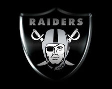 Oakland Raiders Edible Birthday Cake Image Topper 1/4 Sheet Icing Frosting