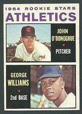 John O'Donoghue / George Williams 1964 Topps Athletics Rookie Stars Card #388