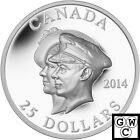 2014 75th Anniversary of the First Royal Visit Proof $25 Silver Coin 9999(13906)