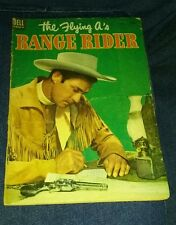 The Flying A's Range Rider #2 Dell TV Western Cowboy Comic 1953 Photo Cover