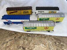 HO Boxcar lot. 5 Boxcars!