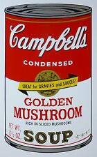 ANDY WARHOL CAMPBELLS' GOLDEN MUSHROOM SOUP II Can SUNDAY B.MORNING 67/1500 LimE