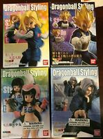 BANDAI Dragon Ball Styling Various figurines Chi Chi, Android 18, Vegeta, Trunks
