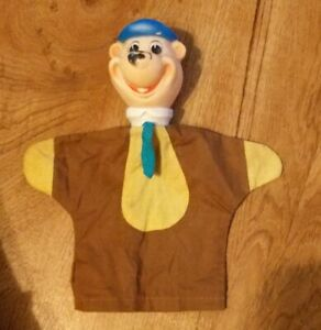 Knickerbocker Hanna Barbera Huckleberry Hound Hand Puppet