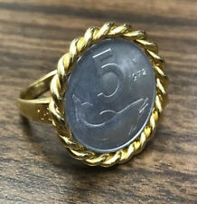 Coin Ring D1712 Bellezza Bronze Lira