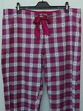 M & S Womens Ladies Loungewear Pants Pyjamas Bottoms Trousers Nightwear Size 22