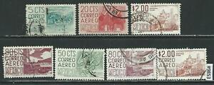 #9853 MEXICO Small Lot of Air Mail Stamps Used