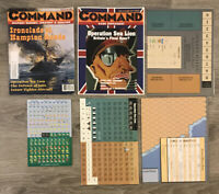 XTR Command Magazine Issue 45 Game OPERATION SEA LION & YARMUK UNPUNCHED
