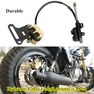 Motorcycle Hydraulic Rear Disc Brake Caliper With Master Cylinder Brake System