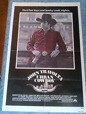 Urban Cowboy 1980 Original 1 Sheet Movie Poster John Travolta Debra Winger  F/VF