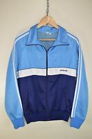 vtg 70s ADIDAS SCHWAHN CASUALS RETRO TRACK JACKET TRACKSUIT TOP SIZE D7 LARGE