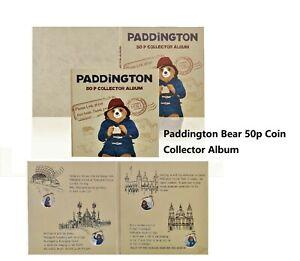 Brand new 2020 Paddington Bear 50p Fifty pence Coin Album BIRTHDAY PRESENT GIFT