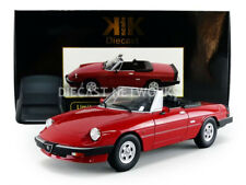 KK SCALE MODELS 1986 Alfa Romeo Spider 3 Serie 2 with removable Softtop Red 1/18