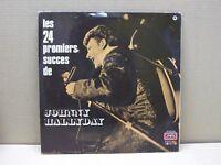 JOHNNY HALLYDAY - LES 24 PREMIERS SUCCES DE - 2 LP - 33 GIRI - GATEFOLD - VG/VG+