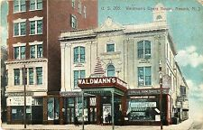 A Closeup View of Waldmann's Opera House, Newark NJ