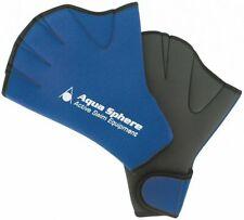 Aqua Sphere Aqua Fitness Swimming Gloves - Blue Large Size