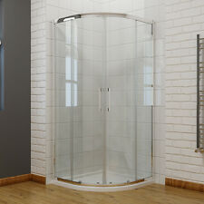 Offset Quadrant Shower Enclosure Cubicle  8mm NANO Self Clean Glass and Tray