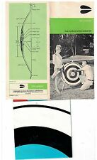 1970s Ben Pearson How to Shoot a Bow & Arrow Booklet with target