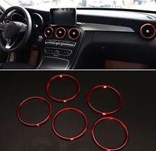 Mercedes Benz Lüftung A B GLA CLA 180 GLA200 GLA220 GLA260 Zierringe Ringe