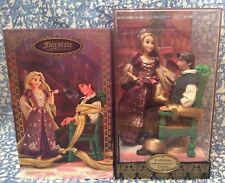 NEW Disney Rapunzel & Flynn Doll Set Limited LE Fairytale Designer Tangled RARE