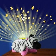 ANIMAL Glow SOFT PET DREAM PILLOW CUSHION KIDS CHILDRENS BED LIGHT zebra TOY