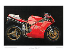 Ducati 916 SP (1994) -  Limited Edition Collectors Print