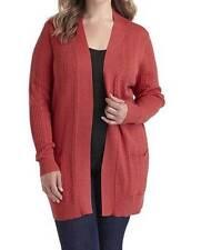 Women's Winter Fall Spring Open Front  knit Cardigan Sweater jacket  plus 2X $48