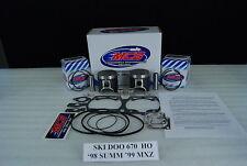 Ski Doo MXZ 670 HO Summit X 670 piston kit complete