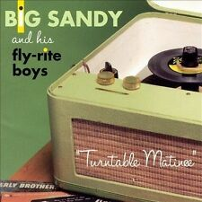 FREE US SHIP. on ANY 3+ CDs! USED,MINT CD Big Sandy & Fly Rite Boys: Turntable M