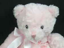 GUND PINK IT'S A GIRL BABY BIRTH ANNOUNCEMENTS ES UNA NINA PLUSH BEAR TEDDY