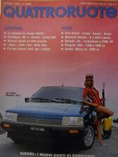 Quattroruote 344 1984  - Test Maserati Biturbo S e 425/4 porte   [Q42]