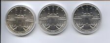 1984 OLYMPIC 3 PIECE UNCIRCULATED SILVER DOLLARS SET