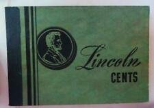 1950's - 1960's Older Meghrig Album Lincoln Cents 1909 - 1947 Free USA Shipping